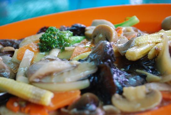 Salut Seafood : mix vege