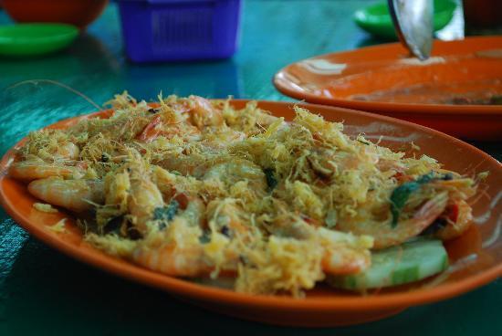 Salut Seafood : the prawns