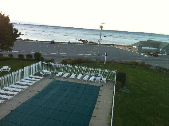 Beachside Village: Pool Closed...View from our Private Balcony!