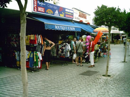 Restaurante Xaloc : Rue du restaurant Xaloc