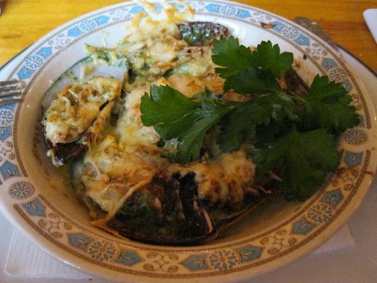 Kzeg A Moda: moules d espagne gratinées à l ail