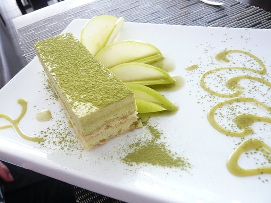 Yoko: Tiramisu au thé vert