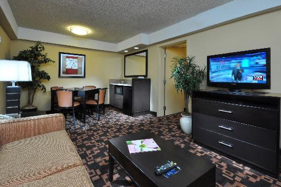 Comfort Inn University: King Suite Living Area