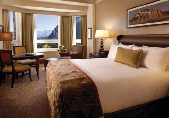 The Fairmont Banff Springs: Fairmont Gold Deluxe View Room