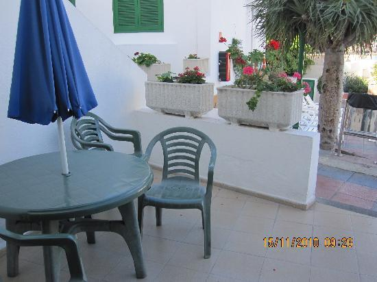 patio picture of niza apartments puerto rico tripadvisor rh tripadvisor co uk