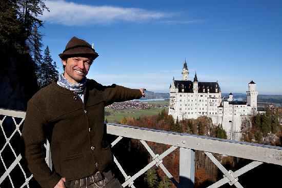 Like Us Tours: Peter @ Neuschwanstein Castle