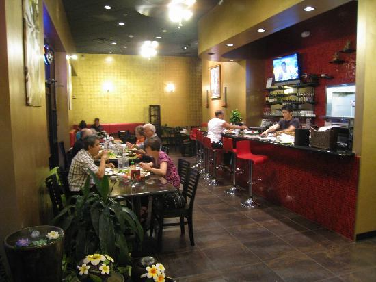 Thai Spices - Thai Restaurant: Great place for coming in a group.