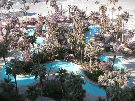 View Of The Main Pool Picture Of Tahiti Village Las