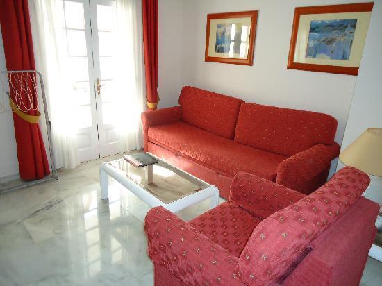 Apartamentos Casablanca: sitting area