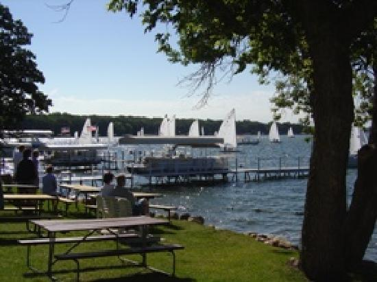 Inn at Okoboji: Lakefront - Sailboats