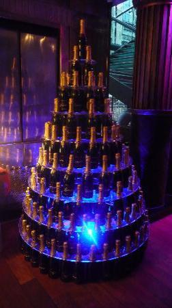 The Dome: Moet Champagne Stack!