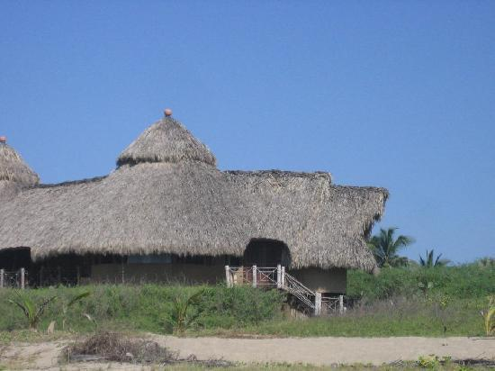 Playa Viva: Hut where we slept
