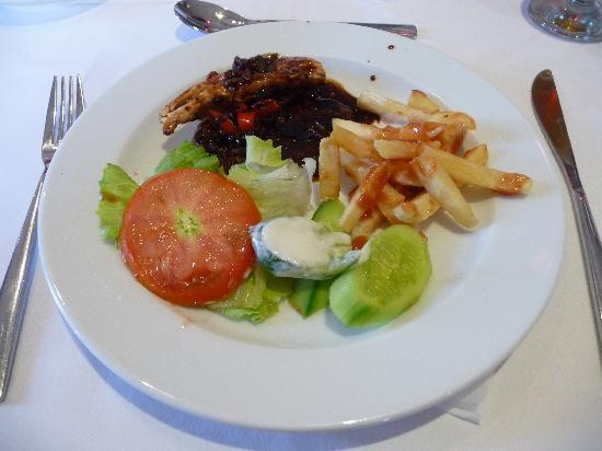 Rixos Sharm El Sheikh: Lunch at the Raj, LUSH! thank you Chef Emad