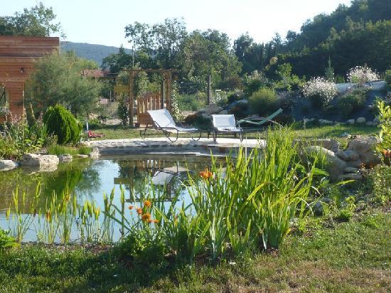 Prades, France: espace detente avec baignade naturelle