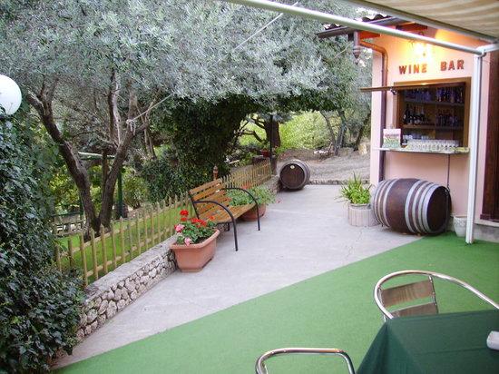 Capriglia Irpina, Italie : Giardino