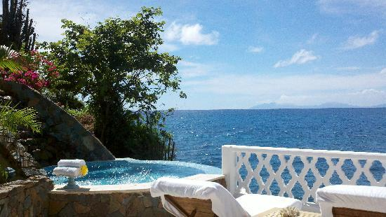 Curtain Bluff Resort: The Jacuzzi Where We Relaxed After Our Amazing  Massages