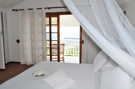 Le Sans Souci Guesthouse: Room with a  view and a balcony