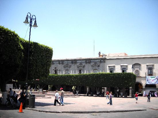 Queretaro City, Mexico: Plaza de Armas in Queretaro