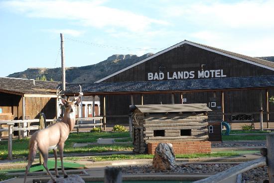 Badlands Motel: Mini Golf