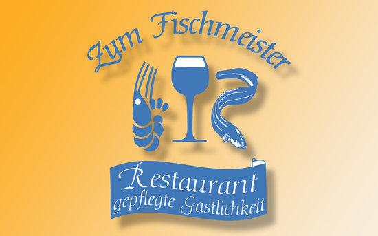 Büsum, Alemania: Zum Fischmeister Logo
