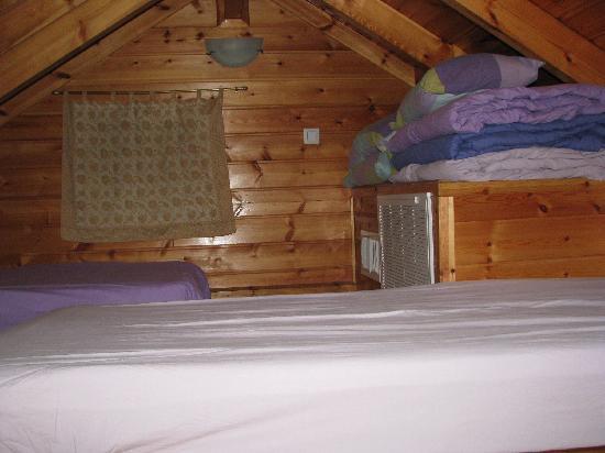 Belfer's Dead Sea Cabins: inside the cabin