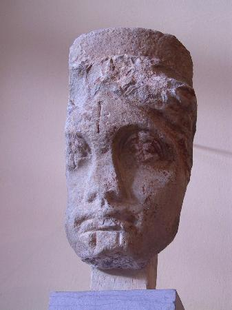 Archaeological Museum of Sparta : head of Hera