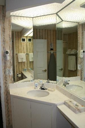Hampton Inn by Hilton Ottawa : Lots of mirrors