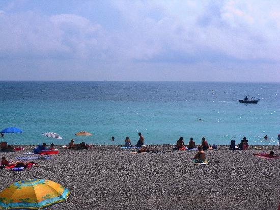 Niza, Francia: Beach