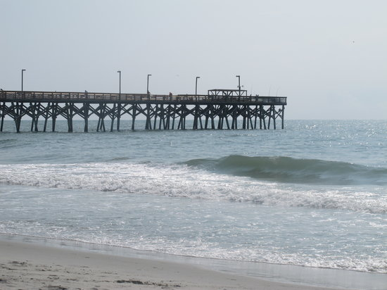 Surfside Beach, Caroline du Sud : View of Surfside Pier