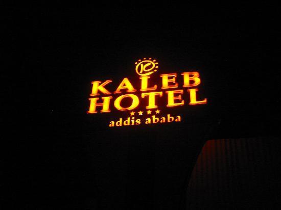 Entrance to the Kaleb Hotel