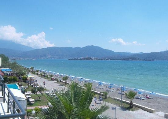 Playa Calis: Calis fronts