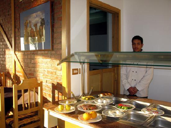 Dahab Dorms: Breakfast Buffet