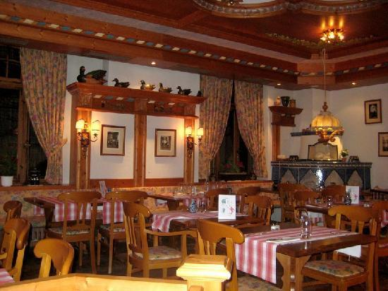 Hotel Du Parc: Salle du restaurant