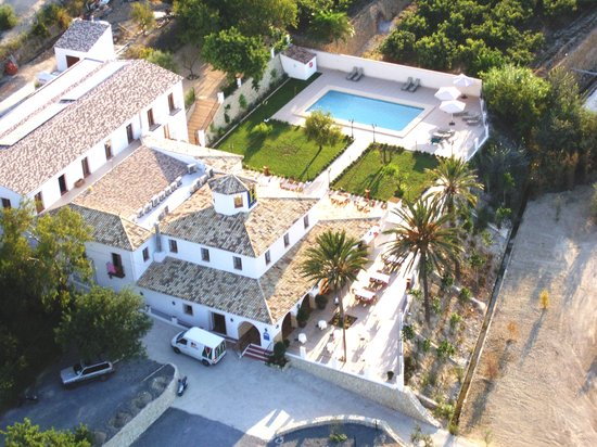 Imagen aérea del Hotel Tossal d'Altea