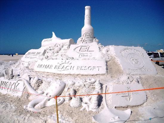 Bilmar Beach Resort: 2010 Sanding Ovations Sculpture and Music Festival