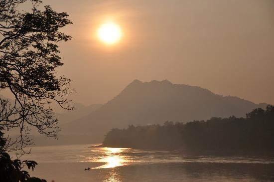 Mekong Estate: Coucher de soleil