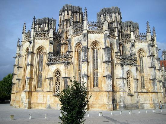 Batalha, Portugal: Kirche Santa Maria da Vitoria