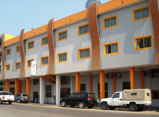 Lobito, Angola: Hotel Tropicana