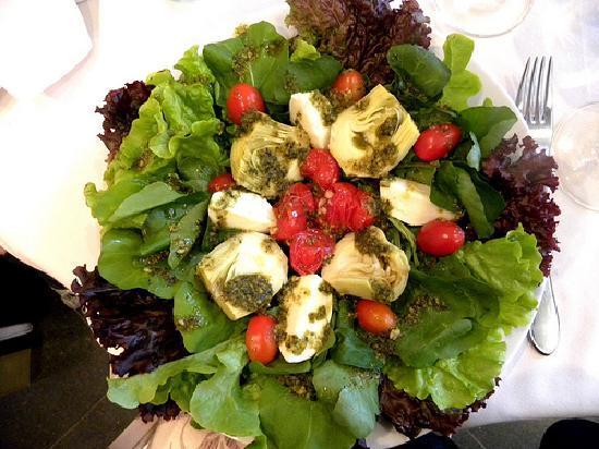 Chamonix Plaza Hotel : Salada