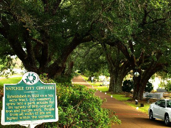 Natchez, MS: General's Row-Main entrance