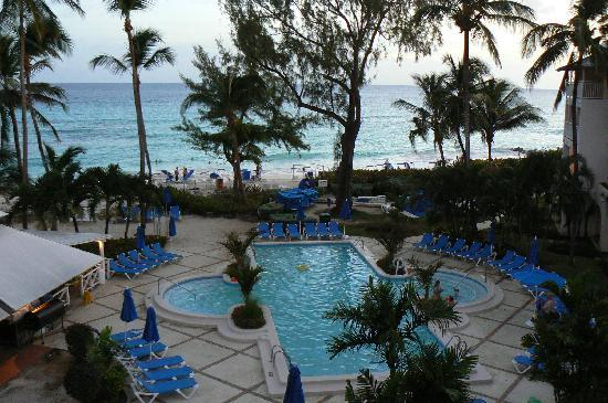 Turtle Beach by Elegant Hotels: View from my patio