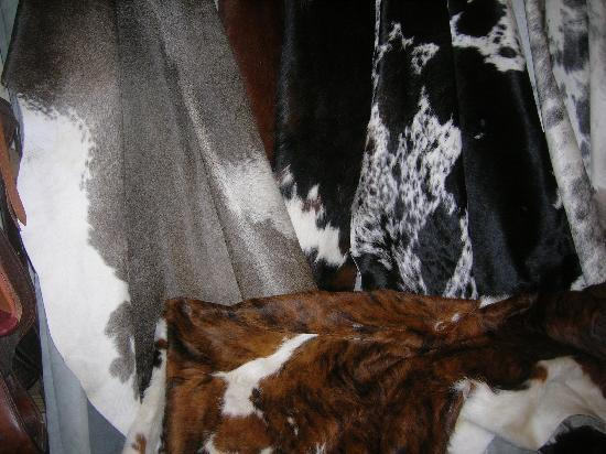 Ruxton's Trading Post: Beautiful cowhide rugs