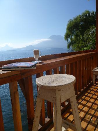 Hotel IslaVerde: Lake Atitlan Front Porch View