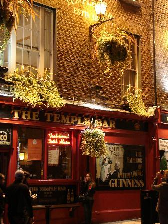 Dublin, Irland: Temple bar
