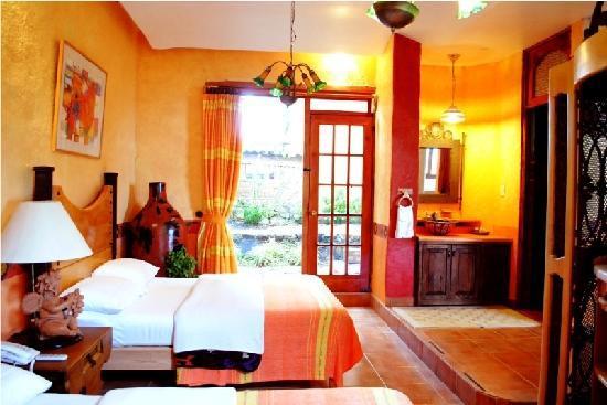 Eco-hotel Ixhi: Mi habitación SUITE AMARILLA