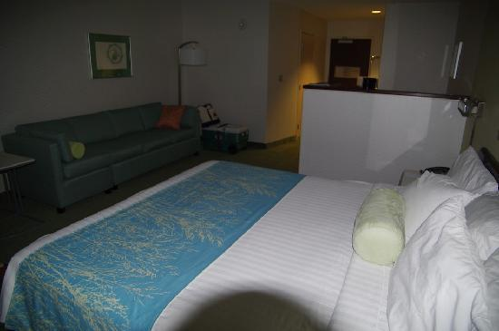 SpringHill Suites Anchorage Midtown: La chambre