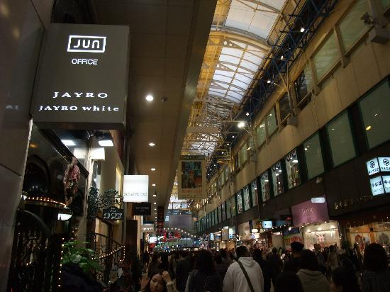 Кобе, Япония: Center-gai shopping arcade, Kobe, Nov/14/2010