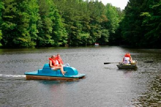 Chesapeake, VA: Paddle Boats at Northwest River