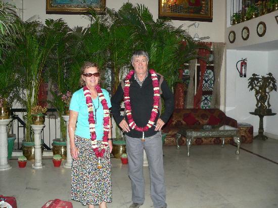 A Palace on the River, Rashmi Guest House: A notre arrivée dans l'hôtel