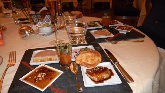 Epinal, Prancis: foie gras 4 ways +
